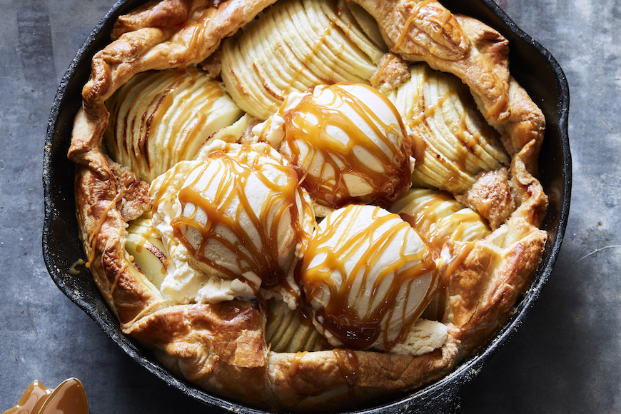 Puff Pastry Apple Galette