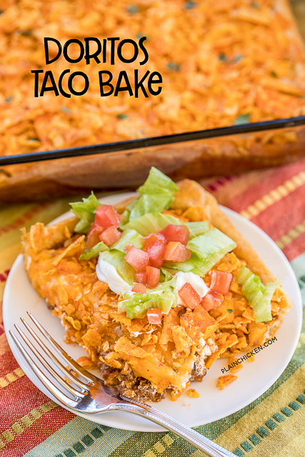 Doritos Taco Bake
