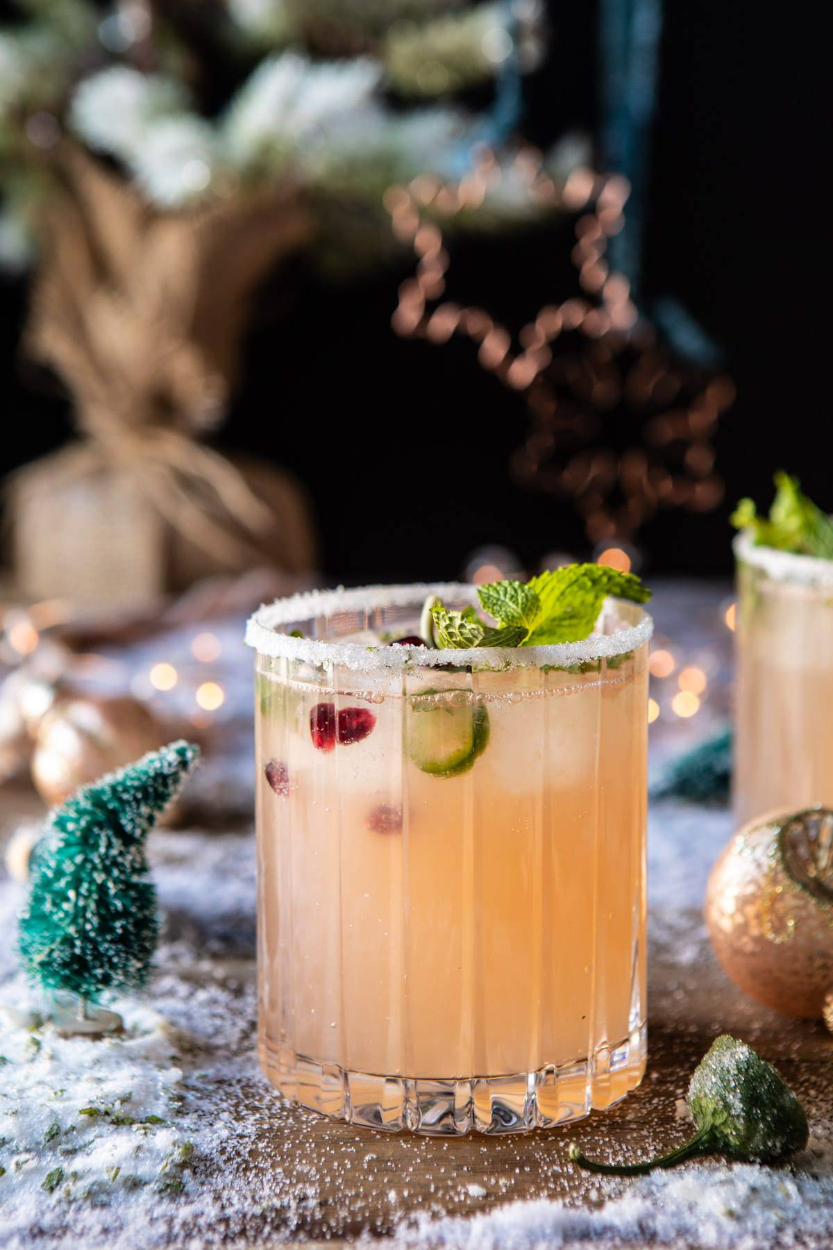 Spicy Sweet Grinch Punch