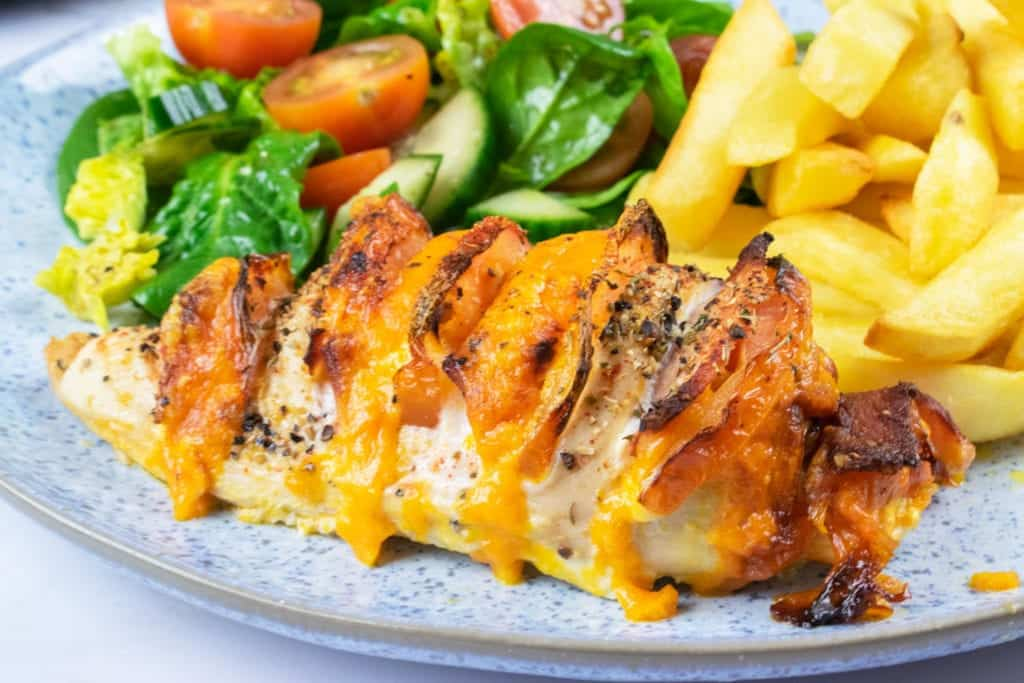 Easy Peasy Syn Free Hasselback Chicken